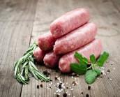 6 x Pork & Caramelised Onion Sausages