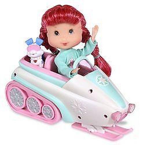Play Set with Doll Doll Emily Erdbeer-Aussuchen #02 Strawberry Shortcake
