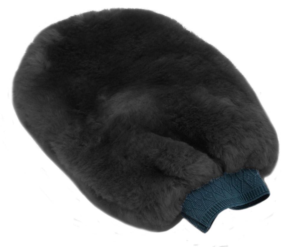 Original Weich Echt Echtes Schafsfell Auto Polierend Wasch Fäustling Handschuh