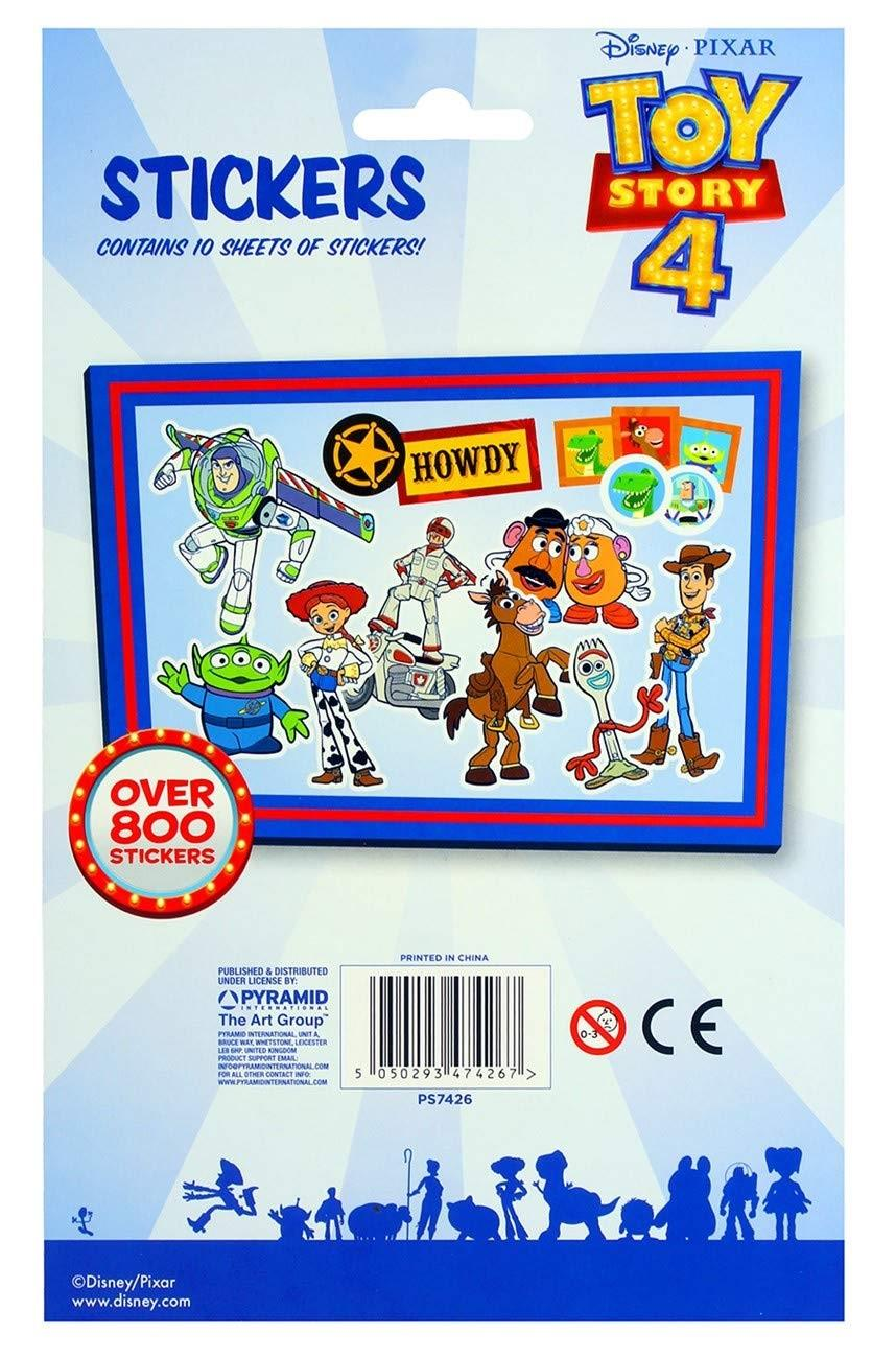 Kinder Sticker Blätter Packung Jungen Mädchen Marvel Toy Story