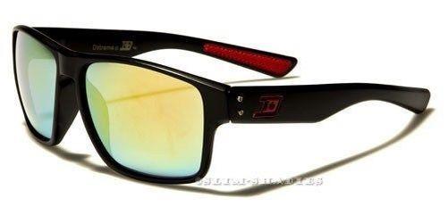 Neue Designer-Sonnenbrille L Herren Damen Schwarz Retro Vintage Groß Uv400