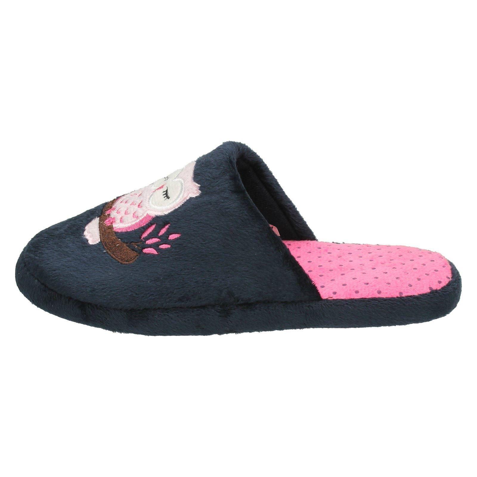 Spot On Donna Gufo Stampa Pantofole
