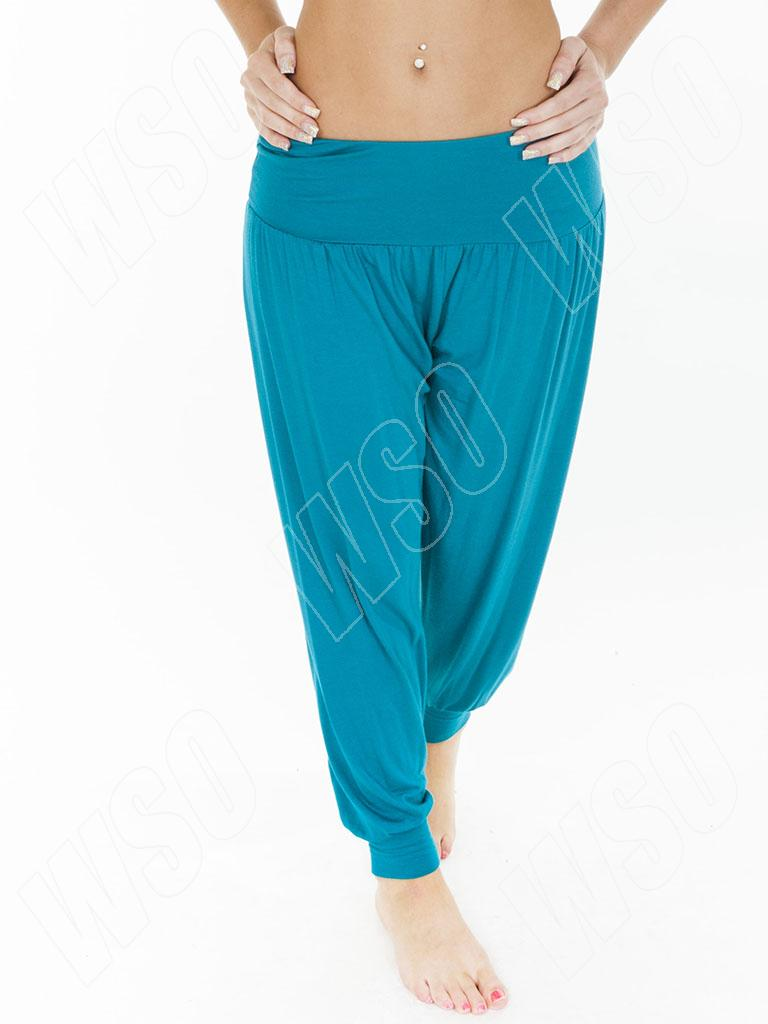Womens Ali Baba Hareem Pants Harem Plain Trousers Plus Size S M L Xl