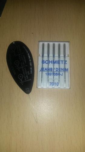 Groß Einfädler Nähmaschine Nadeln Schmetz Kaufe 2 Get 1 GRATIS