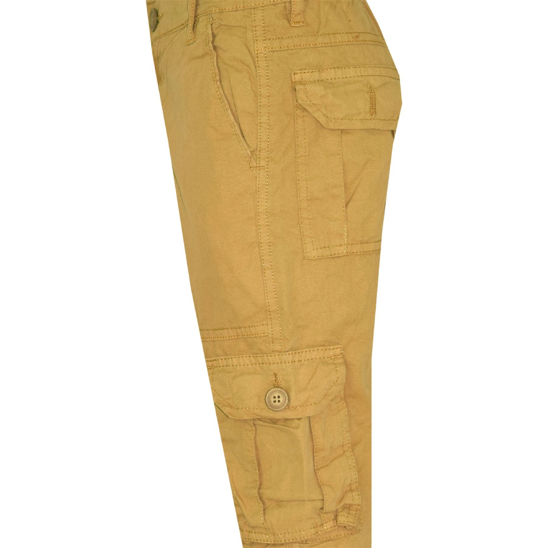 Bambini Ragazzi Bdu Ranger 6-Pocket Cachi Stile Militare Pantaloni Moda 5-13