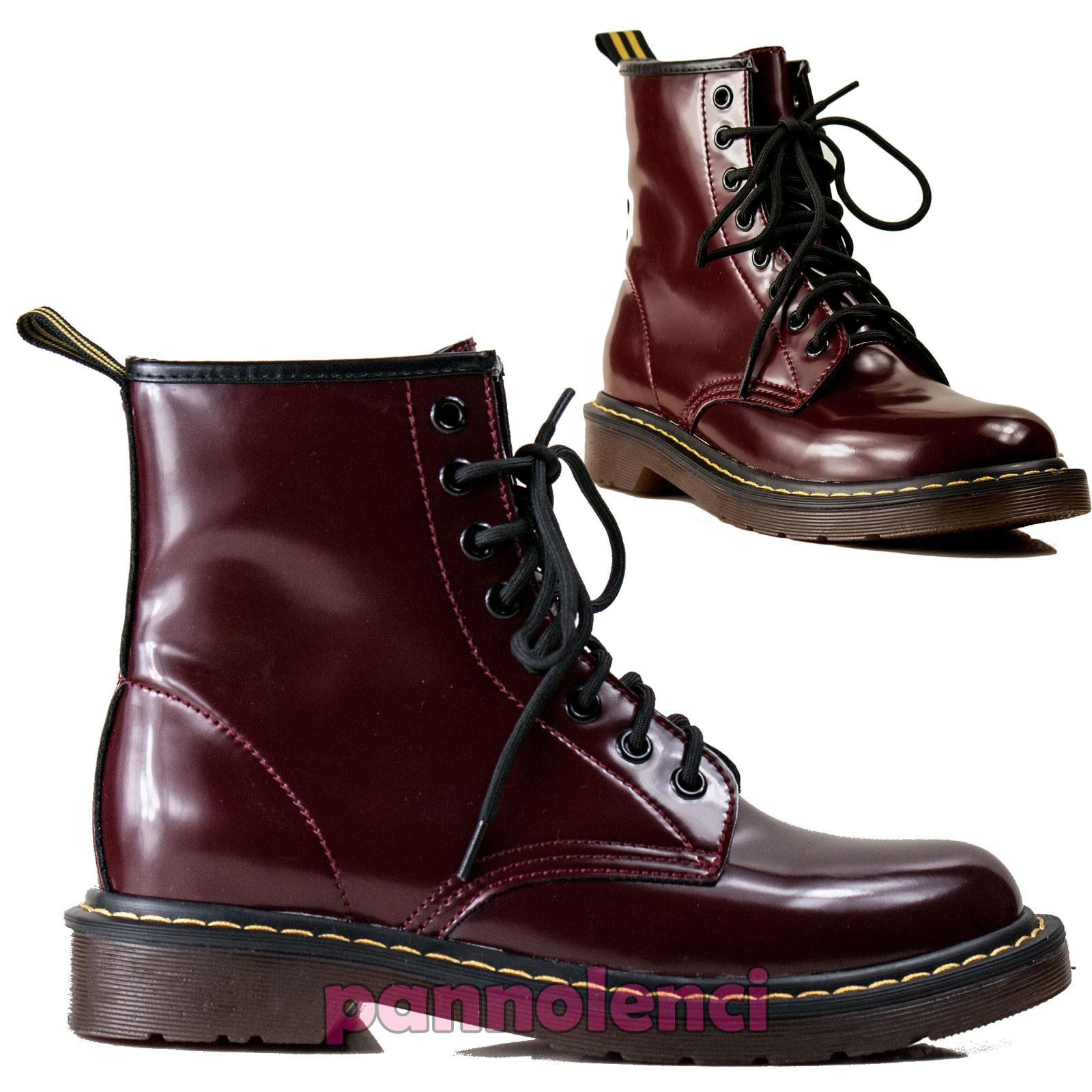 Women/'s Shoes Boots Ankle Boots Boots Low Combat Boots Eco-Leather X13-33