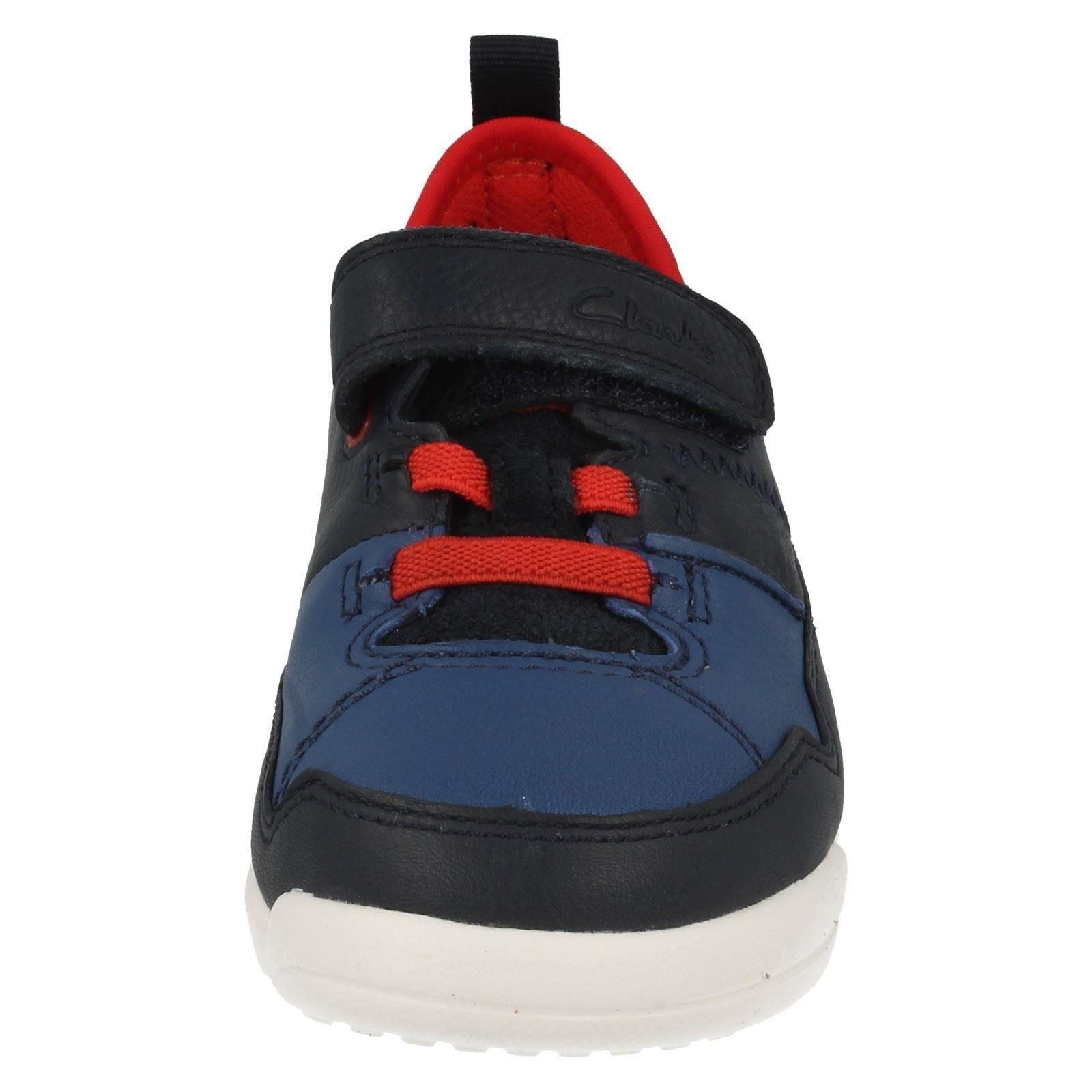 Clarks Boys Casual Shoes Tri Scotty