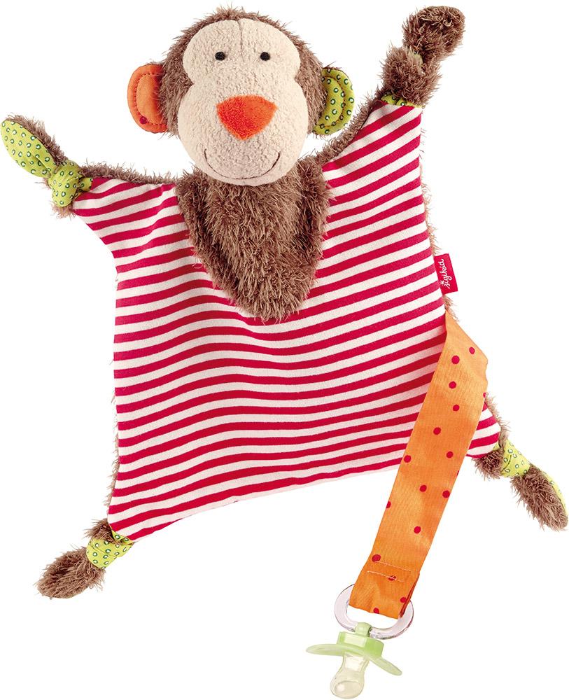 sigikd Schnuffeltuch Affe Schnullerhalter   Einen Freund zum Spielen, Kuscheln und Trösten - den braucht jedes Baby
