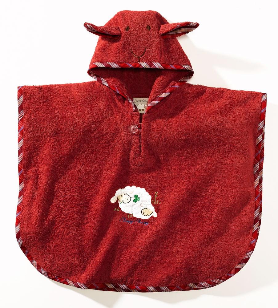 Полотенце-пончо с капюшоном своими руками 52