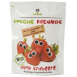 erdbär Freche Freunde Trockenfrüchte Erdbeere (12 g), 1 Stück