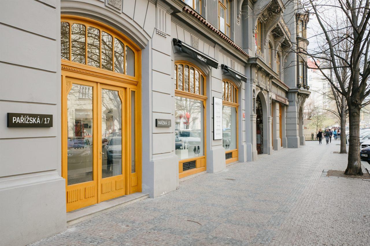 Парижская улица (Pařížská)