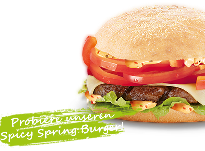 burgerme Spicy Spring Burger
