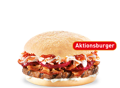 Unser Cole Slaw Burger