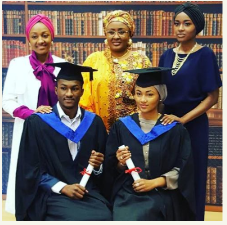 Buhari graduation