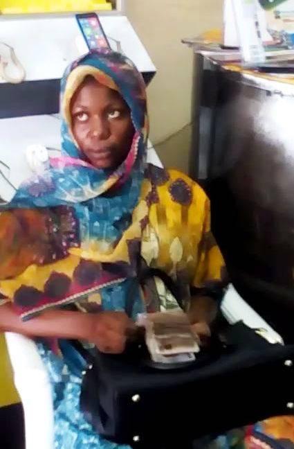 ATM fraudster