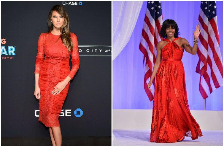 Malania trump vs Michel Obama