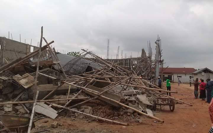 Lord's chosen building collapse main