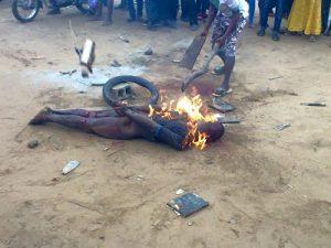 Jungle justice in Ikorodu Badoo rapist