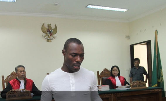 Nigerian, Igweh facing execution in the hands of Indonesian government