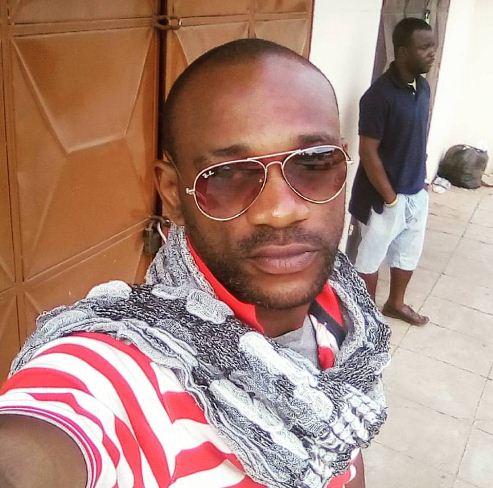Nollywood actor burnt