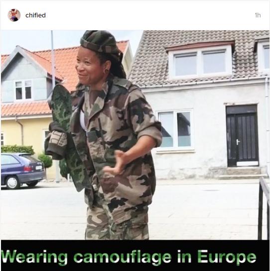 camouflage chichi Igbo
