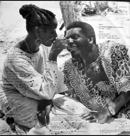 Sir shina peters and clarion chukwura
