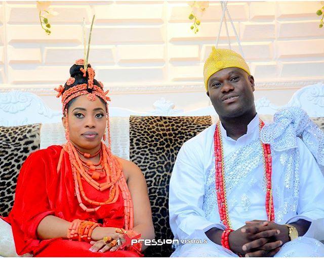 ooni and Olori Wuraola