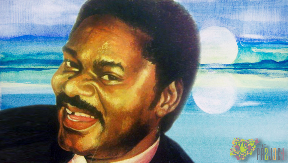 a painting of Dele giwa