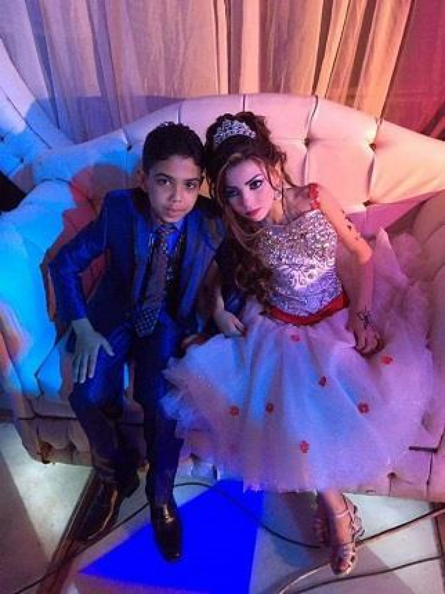 Omar and Gharam to marry in egypt
