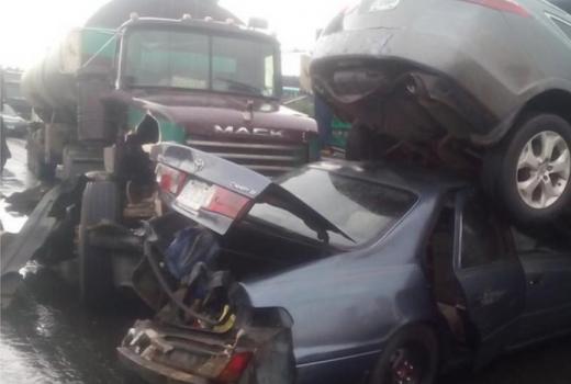 Accident at Iyana Oworo