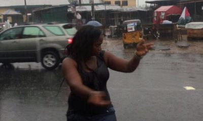 Angela turns traffic warden in port harcourt