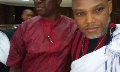 Fayose with Nnamdi Kanu