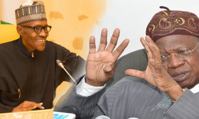 Buhari and Lai Mohammed