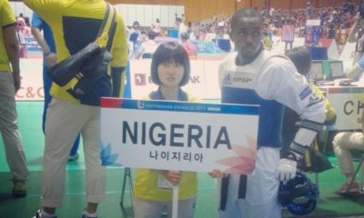 Santos aims to get Nigeria's first Taekwondo medal in 25 years