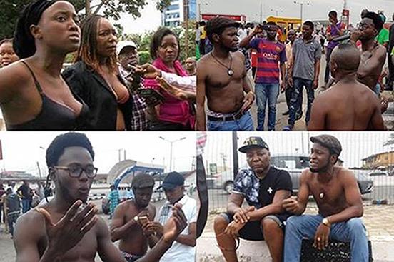 Mumu don do protest, Charly boy