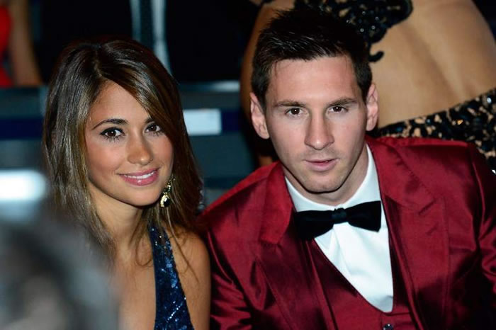 Lionel Messi and Childhood sweetheart