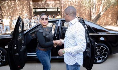 Pastor, his wife and the Rolls royce
