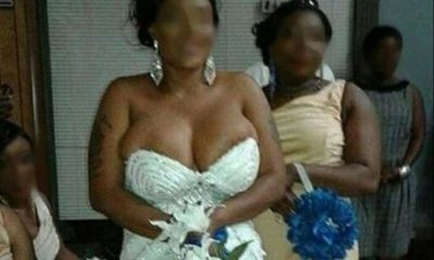 Reno Omokri cautions against bride exposing boobs