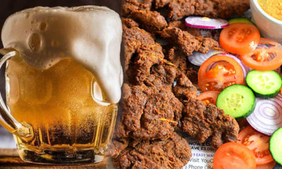 beer and suya