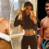 Boxer Amir-Khan-Wife-and-Anthony-Joshua