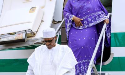Buhari arrives from Daura