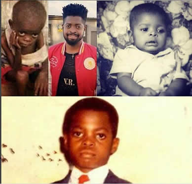 basketmouth-throwback-picture