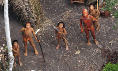Amazon uncontacted frontier