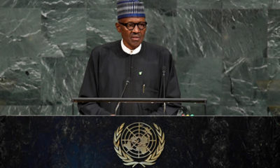 Buhari speaks at the UNGA