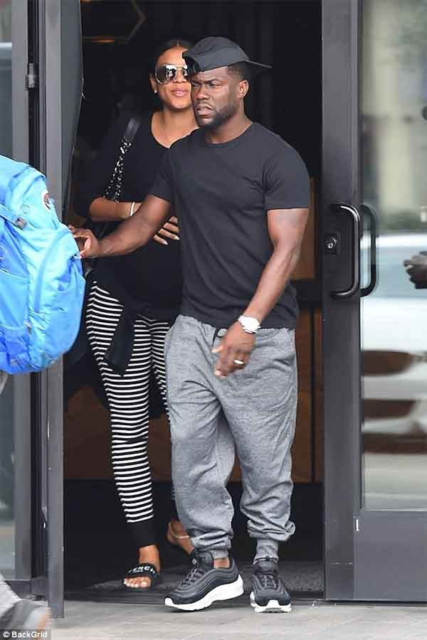 PHOTOS: Kevin Hart, wife's first outing after sex scandal
