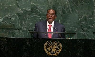 robert Mugabe at-UNGA-72