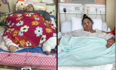 Worlds heaviest woman