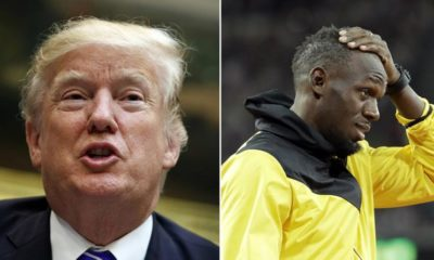 Trump tries to bring Usain Bolt into the debate