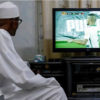 Buhari watching TSTV