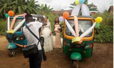 couple in Keke Napep-